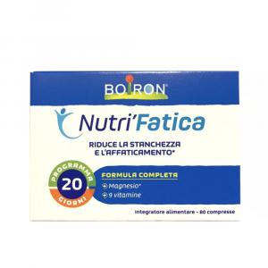NUTRI' FATICA 80 COMPRESSE - INTEGRATORE A BASE DI MAGNESIO E VITAMINE