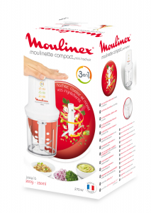 Moulinex DJ300110 tritaverdure elettrico 0,8 L Bianco 270 W