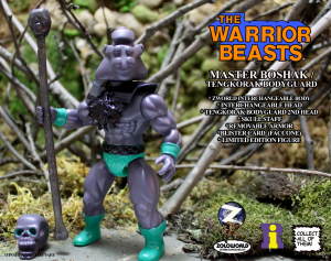 The Warrior Beasts: MASTER BOSHAK / TENGKORAK BODYGUARD by Zoloworld
