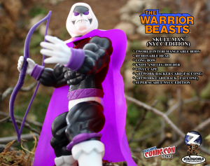The Warrior Beasts: SKULL MAN (NYCC Exclusive) by Zoloworld