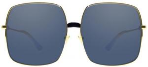 Gucci - Occhiale da Sole Donna, Gold/Blue Shaded  GG0414S  001  C60