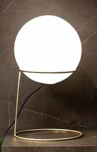 LAMPADA ARTU' DA TAVOLO IN METALLO VERNICIATO H53