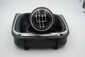 Pomello cambio 5 marce per VW Golf 5, Golf 6 Jetta Scirocco cuffia leva cambio 5 marce