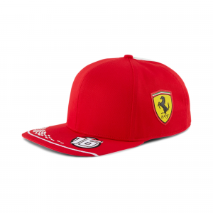 Scuderia Ferrari Leclerc Cap 2020 F1 Team Replica Youth