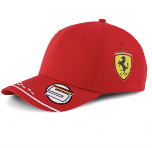 Scuderia Ferrari Vettel Cap 2020 F1 Team Replica Youth
