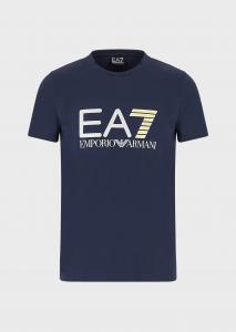 T-shirt uomo ARMANI EA7 in jersey con stampa logo