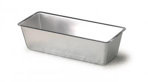 Stampo plumcake in alluminio rettangolare cm.18x9x6h