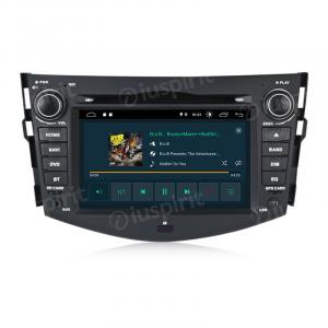 ANDROID 10 autoradio 2 DIN navigatore per Toyota Rav4 2006-2012 GPS DVD USB SD WI-FI Bluetooth Mirrorlink