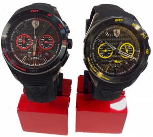 Gran Premio Chronograph Silicon Strap Black Yellow