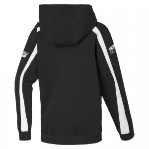 SF Kids Hooded Sweat Jacket Puma Black