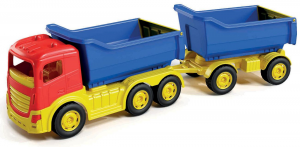 Camion 6 ruote con rimorchio alto in rete 1137 ADRIATIC