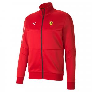 SF  Ferrari T7 Track Jacket Rosso Corsa