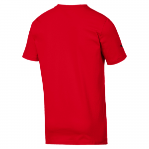 SF Big Shield Tee Rosso Corsa