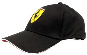 Scuderia Ferrari Adult Classic Cap Black