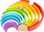 Elementi da costruzione in legno Arcobaleno XL