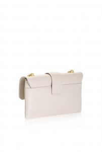 Borsa Mini Love Soft Simply pelle beige - PINKO