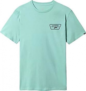 T-Shirt Vans Full Patch Back Light-Blue