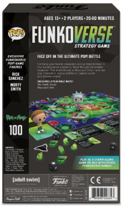 Funkoverse Board Game: Rick & Morty 2 Character Expandalone (manuale italiano)