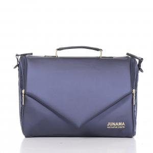 Junama - Saphire 01 - tessuto melange blu/telaio oro - Splendore puro !