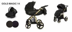 Trio - Mommy BabyActive - Gold Magic - Colore nero - Telaio oro o nero