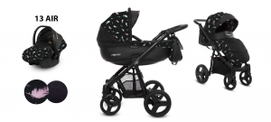 Trio Babyactive - Air - blu piume colorate