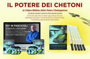 Il Potere dei Chetoni: là dove nessun uomo è mai giunto prima. 12 DVD + Libro - C. Tozzi -  (corso-completo-6-fascicoli+12dvd)
