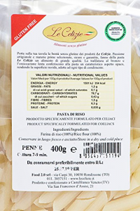 Penne di riso senza glutine