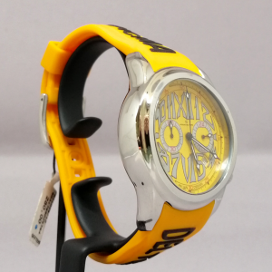 OFFICINA DEL TEMPO YELLOW SILIC ROUND