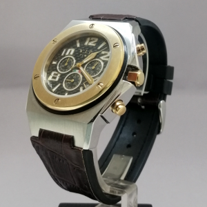 V.I.P. TIME CHRONO GOLD BROWN