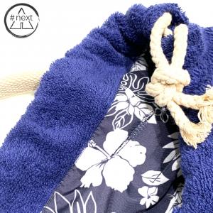 FeFè Sartorialisbetter - Zaino in spugna di cotone - blu