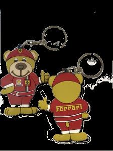 Scuderia Ferrari Teddy World Champion Keyring