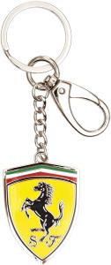 Scuderia Ferrari Metal Shield Keychain