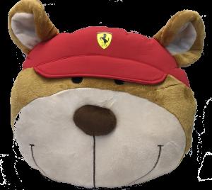 Scuderia Ferrari Teddy Face Face Cushion