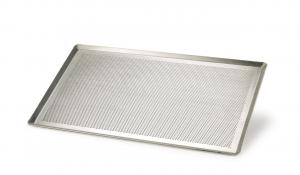 Teglia in alluminio Gastronorm forata cm.53x22x1h