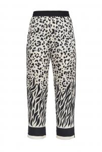 Pantalone stampa animalier Pinko.