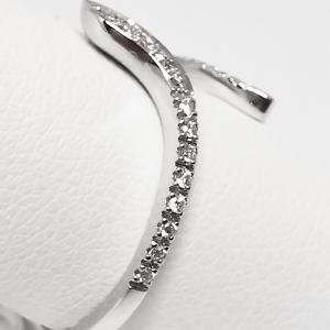 Anello Serpente Oro bianco e diamanti