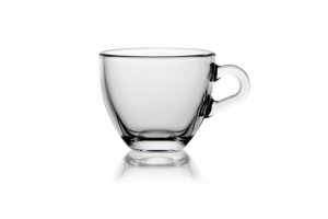 Tazzina da caffè in vetro cl 9 senza piatto