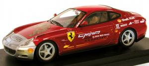 Ferrari 612 Scaglietti 15000 Red Miles Tour Red Silver 1/43