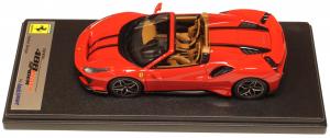 Ferrari 488 Pista Spider Rosso Corsa With Black Stripes 1/43