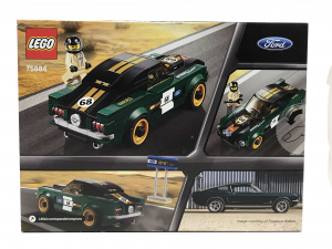 Lego Ford Mustang Fastback 1968
