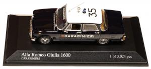 Alfa Romeo Giulia 1970 Carabinieri 1/43