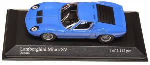Lamborghini Miura SV 1971 Azzurro 1/43