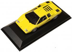 Lamborghini Countach 1970 Yellow 1/43