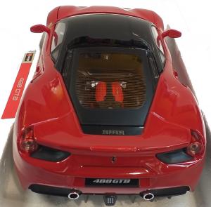 Ferrari 488 GTB Rosso Presentazione 1/18