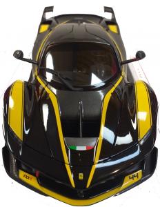 Ferrari FXX K Black #44 1/18