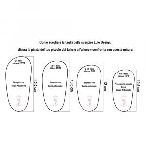 Scarpine antiscivolo gabbiani in cotone biologico