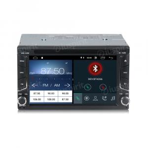 ANDROID 10 autoradio 2 DIN navigatore per Nissan Qashqai, Nissan Juke, Nissan X-Trail, Nissan Tiida GPS DVD USB SD WI-FI Bluetooth Mirrorlink