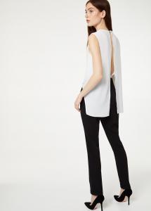 Tuta elegante bianco-nero - LIU JO