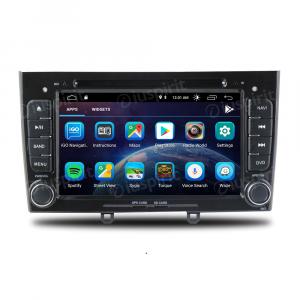 ANDROID 10 autoradio 2 DIN navigatore per Peugeot 308, Peugeot 408 GPS DVD USB SD WI-FI Bluetooth Mirrorlink
