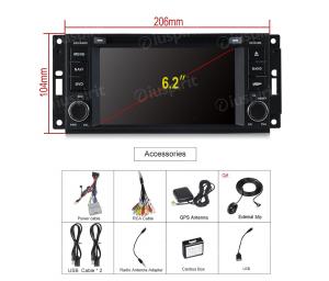 ANDROID 10 autoradio navigatore per Jeep Grand Cherokee Compass Patriot Chrysler Dodge GPS DVD USB SD WI-FI Bluetooth Mirrorlink